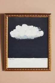 storm cloud black white wall art