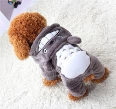 New <b>Fleece</b> Pet Cat Dog Costume Soft <b>Warm Dogs Clothes Cartoon</b> ...