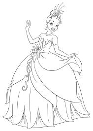 Kleurplaat Disney Kleurplaat De Prinses En De Kikker Animaatjesnl