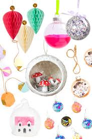christmas tree decorations and baubles mollie makes