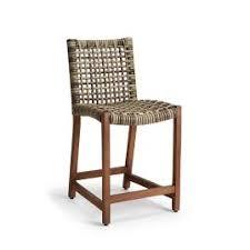 Paris bistro bar stools Mediterranean Isola Counter Stool In Natural Finish Ondart Paris Bistro Bar Stool Frontgate