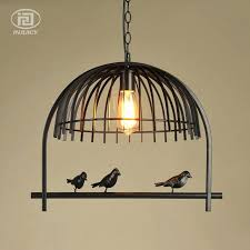 industrial lighting chandelier. Mesmerizing Cage Chandelier Lighting Industrial Candelabra 6 Light With Bird Lantern N