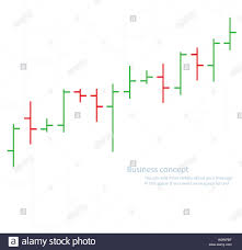 Bar Chart Graph Background Concept Of Stock Exchange Stock