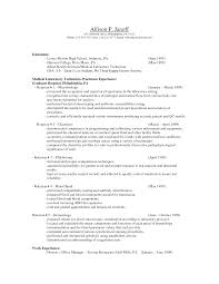 Sample Resume For Housewife Returning To Work Resume For Your