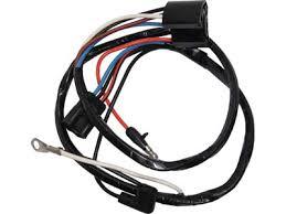 65 mustang gt alternator wiring harness, v8 w gauges (alloy