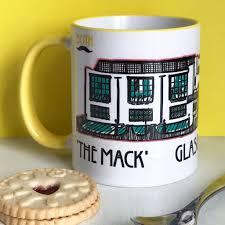 charles rennie mackintosh glasgow of art and font design mug celebrating the scottish artist