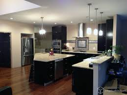 Contemporary Modern Kitchen Cabinets Black Modernkitchen Intended Simple Design