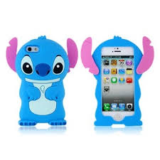 Iphone 5s Case Blue : Stitch shaped silicone protective case for iphone blue sale in