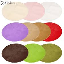 the best quality large round mats rugs circle circular plain modern carpet  shaggy rugs 10 color.