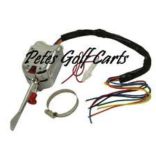 golf cart turn signal golf cart turn signal switch chrome universal club car ezgo yamaha 7 wire