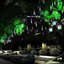 30/50CM LED meteor light led lamp lights flashing Christmas tree lights  outdoor hanging tree