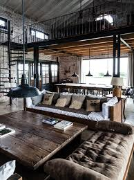 Beautiful industrial chic loft with wrought iron and exposed beams