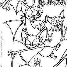 Small Picture Camp of flying black bats coloring pages Hellokidscom