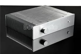 Details about Silver <b>Aluminum</b> Enclosure <b>Power</b> Amplifier <b>Chassis</b> ...