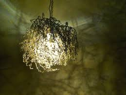 shadow chandelier how to make forest inspired diy tree branch