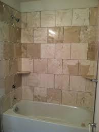 perfect plaid bathroom wall tiles for small bathroom space