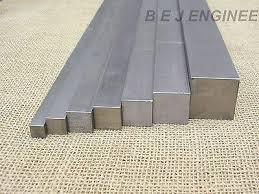 Metalworking Supplies NEW Mild Steel <b>Square</b> Rod Billet <b>100mm</b> ...