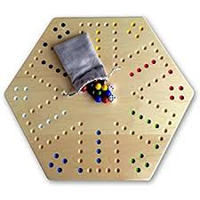 Beautiful Wooden Marble Aggravation Game Board Amazon Oak Hand Painted 100 Wooden Aggravation Wahoo Game 38