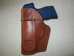 item b458 sig sauer p365 iwb brown leather holster right or left hand ambidextrous