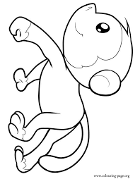 Monkey Coloring Pages Monkey Coloring Page 33 Free Printable