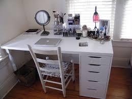 ikea office organization. Ikea Office Organizers. IKEA Makeup Organization Storage Linnmon Table Top And ALEX Drawer