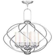 full size of furniture mesmerizing brushed nickel crystal chandelier 17 excellent polished chandeliers 31 zoom livex