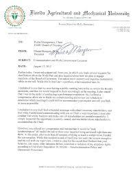 rufus montgomery letter famu president elmira mangum documents