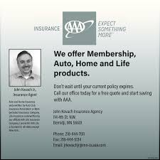 The Bemidji Pioneer Business Directory Coupons Restaurants Unique Aaa Com Insurance Quote