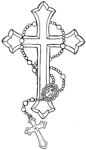 Rosary bead drawing at getdrawings free for personal use rh getdrawings hand rosary bead tattoo stencils rosary beads tattoo outline