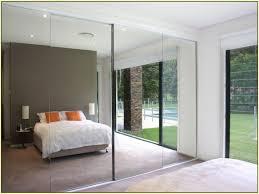 sliding mirror closet doors makeover. Mirrored Sliding Closet Doors Frameless Mirror Makeover 864 Enchanting T
