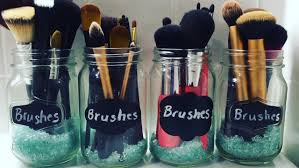 this is another diy video for you guys and it is about how you can make cute homemade makeup brush holders using s from the dollar