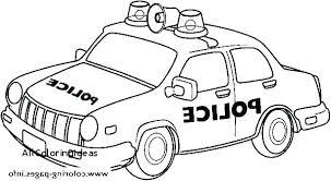 Police Car Coloring Page Chromadollscom