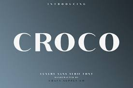 Fonts For Logo Designing Free Download Croco Font Family Free Download On Behance