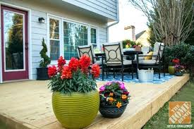 small backyard patio decorating ideas new flower planters adding color to a o72 patio