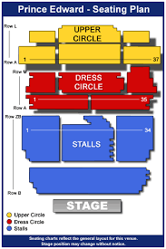 Prince Edward Theater London Seating Chart Buy Cheap Tickets For Jersey Boys