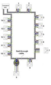 wiring diagram for ring main lighting wiring diagram and diagram for finding a fault on ring main diynot forums