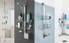kmart college shower tension caddy organizer wooden best coated suction big bamboo hanging interdesign bunnings monsoon