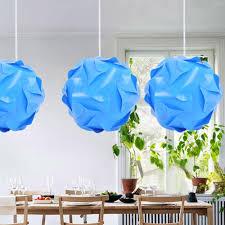 30pcs 25cm Promotion Pp Diy Modern Pendant Ball Novel Iq Lamp Shade Jigsaw Puzzle Pendants Lights Led Ceiling Lampshade For Bar