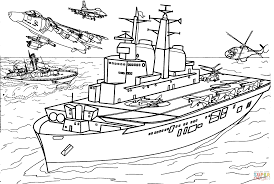 Battleship Coloring Pages And - creativemove.me