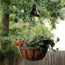 planter lighting. Hanging Solar Accent Light With Attachable Planter Basket GS-6 - Gamasonic Lighting