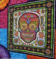 Handmade quilt | Skull-tastic! | Pinterest &  Adamdwight.com