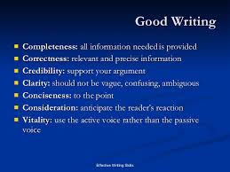 writing skills written communication  good writing