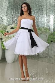 Black And White Wedding Dresses For Bridesmaids