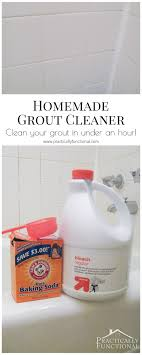 best way to clean bathroom. This Homemade Grout Cleaner Is Such A Great Way To Clean Tile Grout; All You Best Bathroom E