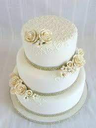 Cake Ideas For Wedding Anniversary Cake Decorations 40th Wedding
