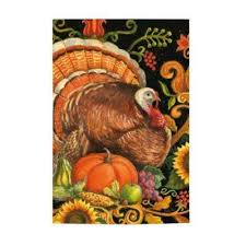 folk turkey flag