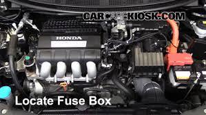 blown fuse check 2011 2016 honda cr z 2011 honda cr z ex 1 5l 4 cyl locate engine fuse box and remove cover