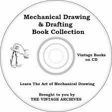 mechanical drawing drafting vine books on cd