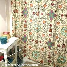 bohemian style shower curtain contemporary ideas curtains cute new decor how to make cur red poppy bohemian style curtain