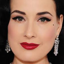 dita von teese makeup tutorial inspired